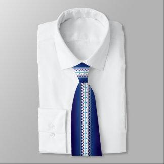 Schmetterlings-Nations-Blau Krawatte