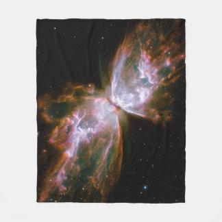 Schmetterlings-Nebelfleck-Fleece-Decke Fleecedecke