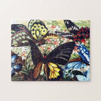 Schmetterlings-Puzzlespiel Puzzle