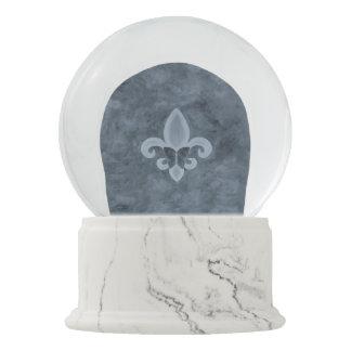 Schmetterlings-rauchiges Denim-Blau des Schneekugel