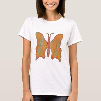 Schmetterlings-Rost T-Shirt
