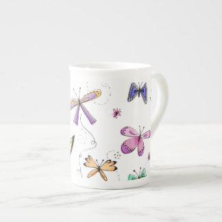 Schmetterlings-Schale Porzellantasse