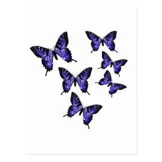 Schmetterlings-Schmetterlinge Postkarte