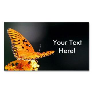 Schmetterlings-Schönheit Magnetische Visitenkarten