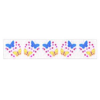 Schmetterlings-Schönheiten Kurzer Tischläufer