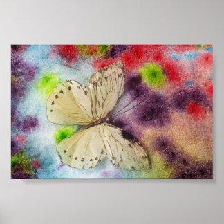 Schmetterlings-Segen Poster