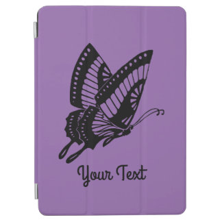 Schmetterlings-Silhouette iPad Air Cover