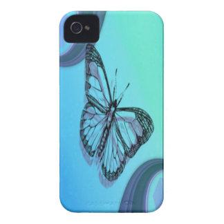 Schmetterlings-Silhouette iPhone 4 Hüllen