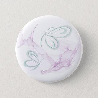 Schmetterlings-Spitze Runder Button 5,7 Cm