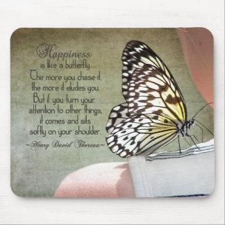 Schmetterlings-Stange Mauspad