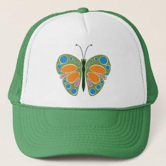 Schmetterlings-Stau: Grün Truckerkappe