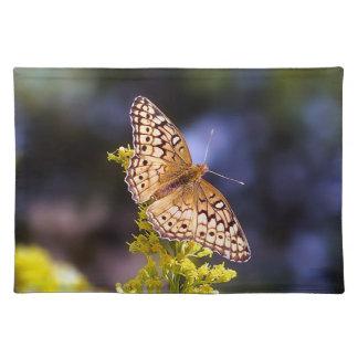 Schmetterlings-Stoff-Tischset Tischset