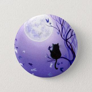 Schmetterlings-Strudel Runder Button 5,1 Cm