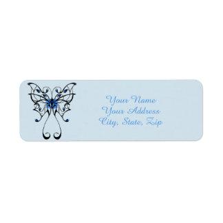 Schmetterlings-Tanz 2 Rücksende Aufkleber