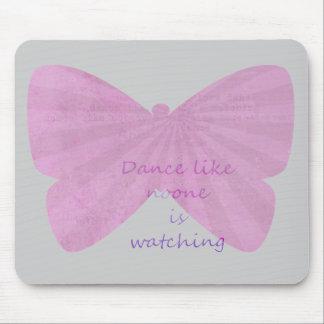 Schmetterlings-Tanz Mousepads