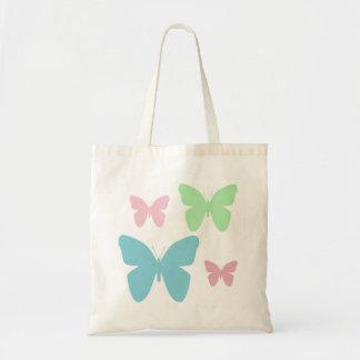 Schmetterlings-Taschentasche Budget Stoffbeutel