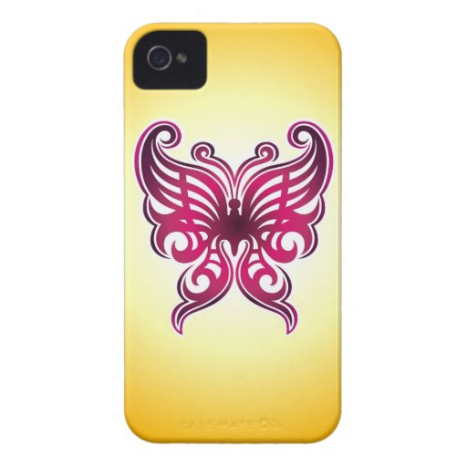 Schmetterlings-Tätowierung iPhone 4 Fall iPhone 4 Hülle