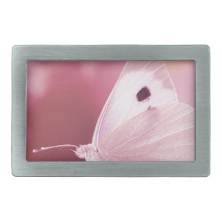 Schmetterlings-Tiere vermisst Sie Rosafrühling Rechteckige Gürtelschnallen