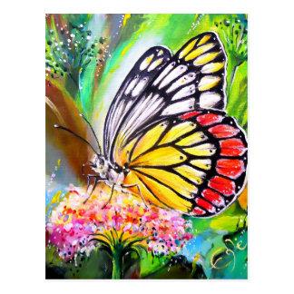 Schmetterlings-Traum Postkarte