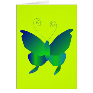 Schmetterlings-Träume Grußkarte