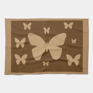 Schmetterlings-Tuch Browns TAN Handtuch