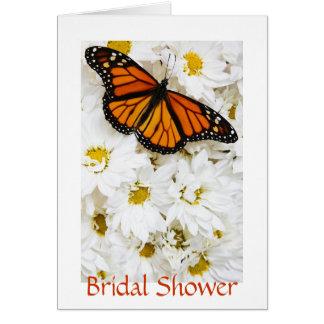 Schmetterlings-u. Gänseblümchen-Brautparty Karte
