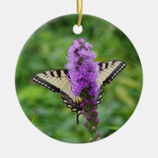 Schmetterlings-Verzierung Keramik Ornament