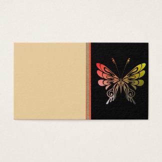 Schmetterlings-Visitenkarte Visitenkarte