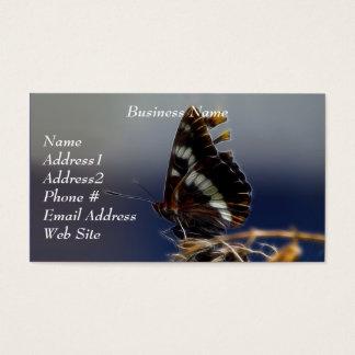Schmetterlings-Visitenkarten Visitenkarte