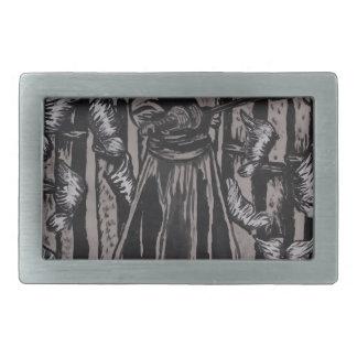 Schmetterlings-Wald durch Carter L. Shepard Rechteckige Gürtelschnallen