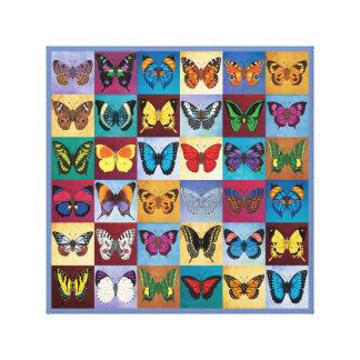 Schmetterlings-Welt Leinwanddruck