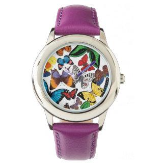 Schmetterlings-Welt Uhr