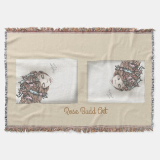 Schmetterlings-Wurfsdecke Decke