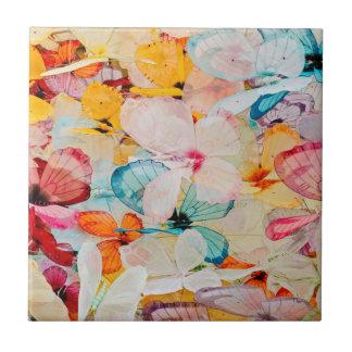 Schmetterlingsausstellung Keramikfliese