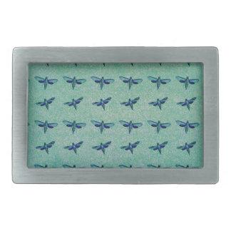 Schmetterlingsblau Rechteckige Gürtelschnallen