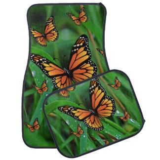 Schmetterlingsboden-Automatten Autofußmatte