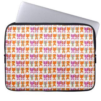 Schmetterlingsdrucklaptop-Tablettehülse Laptop Sleeve