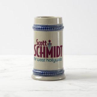 Schmidt-LogoTasse oder Stein Bierglas