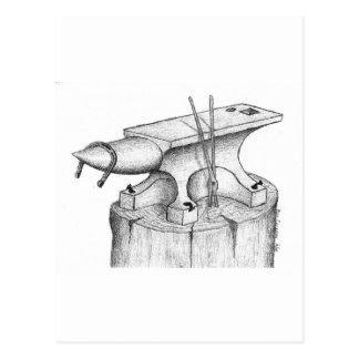 Schmiede-und Hufschmied-Produkte Postkarte