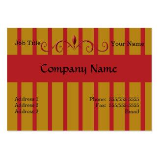 Schmiedeeisen gemalte Zaun-Visitenkarten Mini-Visitenkarten