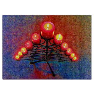 Schmiedeeiserner Weihnachtsbaum,Weihnacht,Advent, Schneidebrett