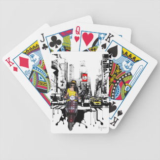 Schmilzt Asphalt Bicycle Spielkarten