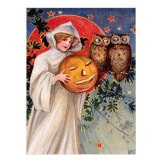 Schmucker Auf Halloween Ankündigungskarte