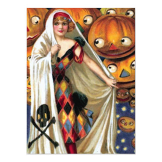 Schmucker: Das magische Halloween 16,5 X 22,2 Cm Einladungskarte