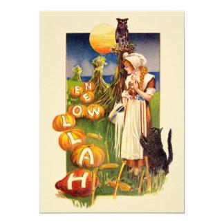 Schmucker: Halloween-Feld 12,7 X 17,8 Cm Einladungskarte