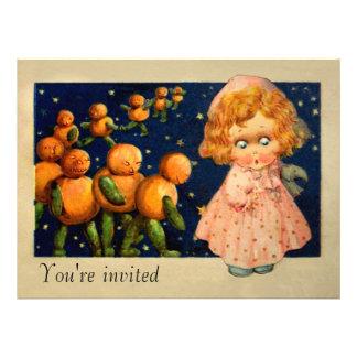 Schmucker Halloween-Kürbise Personalisierte Ankündigung