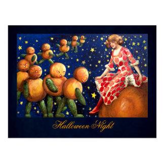Schmucker: Halloween-Nacht Postkarte