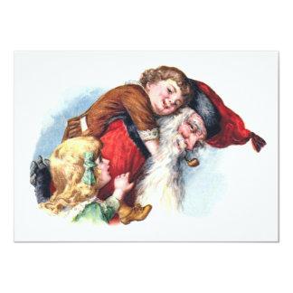 Schmucker: Sankt, die mit Kindern spielt 11,4 X 15,9 Cm Einladungskarte