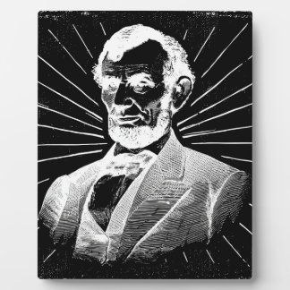 Schmutz Abraham Lincoln Fotoplatte