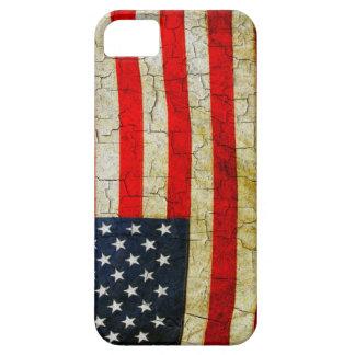 Schmutz-Amerika-Flagge iPhone 5 Hülle